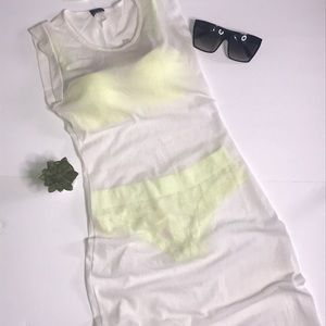 Sans Souci Swim Sheer Cover Up Club Dress